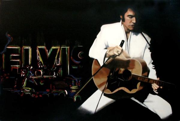 Elvis Presley by Qwiepke